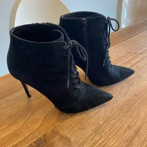 Something Navy x Nordstrom Ankle Lace Up Boot